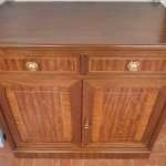 Walnut sideboard neoclassical