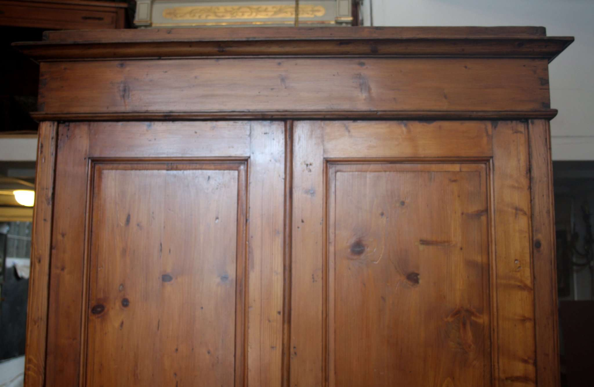 Conifer wood cabinet 1870 1880 for 1880 kitchen cabinets